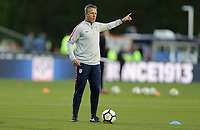 Cary, N.C. - Tuesday March 27, 2018: John Hackworth during an International friendly game between the men's national teams of the United States (USA) and Paraguay (PAR) at Sahlen's Stadium at WakeMed Soccer Park.