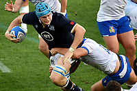 Scott Cummings of Scotland and Marco Zanon of Italy during the rugby Autumn Nations Cup's match between Italy and Scotland at Stadio Artemio Franchi on November 14, 2020 in Florence, Italy. Photo Andrea Staccioli / Insidefoto