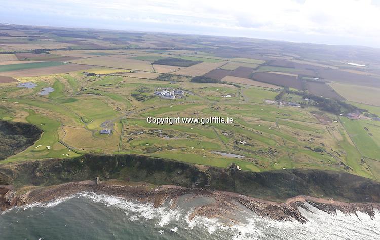 Fairmont St Andrews<br /> Aerial view<br /> Sept 2013