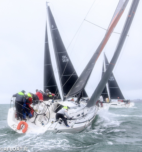 New 2021 J122 ISORA entry Kaya from Greystones Harbour will start next Saturday's 50-mile training run from Dun Laoghaire
