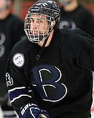 Alex Grieve (Bentley - 23) - The Harvard University Crimson defeated the visiting Bentley University Falcons 5-0 on Saturday, October 27, 2012, at Bright Hockey Center in Boston, Massachusetts.
