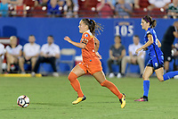 """Frisco, TX - Sunday September 03, 2017: Andressa Cavalari Machry """"Andressinha"""" during a regular season National Women's Soccer League (NWSL) match between the Houston Dash and the Seattle Reign FC at Toyota Stadium in Frisco Texas. The match was moved to Toyota Stadium in Frisco Texas due to Hurricane Harvey hitting Houston Texas."""