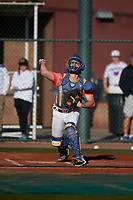 Matthew Campina during the Under Armour All-America Tournament powered by Baseball Factory on January 18, 2020 at Sloan Park in Mesa, Arizona.  (Zachary Lucy/Four Seam Images)