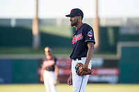 AZL Indians 1 first baseman Michael Cooper (39) during an Arizona League game against the AZL White Sox at Goodyear Ballpark on June 20, 2018 in Goodyear, Arizona. AZL Indians 1 defeated AZL White Sox 8-7. (Zachary Lucy/Four Seam Images)