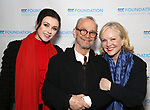 Irina Dvorovenko, Joel Grey and Susan Stroman attend the Second Annual SDCF Awards, A celebration of Excellence in Directing and Choreography, at the Green Room 42 on November 11, 2018 in New York City.