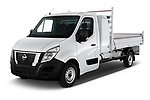 2020 Nissan NV400-Tipper Acenta 2 Door Chassis Cab Angular Front automotive stock photos of front three quarter view