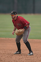 Arizona Diamondbacks first baseman Terence Connelly (56) during an Extended Spring Training game against the Colorado Rockies at Salt River Fields at Talking Stick on April 16, 2018 in Scottsdale, Arizona. (Zachary Lucy/Four Seam Images)