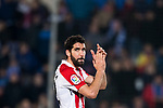 Raul Garcia Escudero of Athletic Club de Bilbao gestures during the La Liga 2017-18 match between Getafe CF and Athletic Club at Coliseum Alfonso Perez on 19 January 2018 in Madrid, Spain. Photo by Diego Gonzalez / Power Sport Images