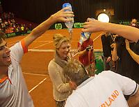 14-sept.-2013,Netherlands, Groningen,  Martini Plaza, Tennis, DavisCup Netherlands-Austria, Doubles,   <br /> Photo: Henk Koster