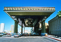 Las Vegas: The Alladin--entrance. Photo '79.