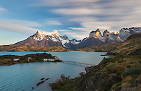 Hosteria Pehoe in Lago Pehoe, Torres del Paine, Patagonia, Chile