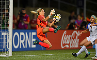 Cincinnati, OH - Tuesday September 19, 2017: Erin Naylor during an International friendly match between the women's National teams of the United States (USA) and New Zealand (NZL) at Nippert Stadium.