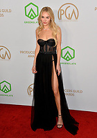 SANTA MONICA, USA. January 18, 2020: Michelle Randolph at the 2020 Producers Guild Awards at the Hollywood Palladium.<br /> Picture: Paul Smith/Featureflash