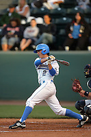 March 19, 2010: Niko Gallego (2) of UCLA during game against Oral Roberts at UCLA in Los Angeles,CA.  Photo by Larry Goren/Four Seam Images