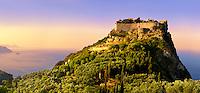 Angelokastro, [ Angelos Komnenos Castle ]  Byzantine Castle, Corfu Ionian Island, Greece