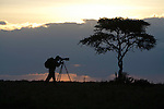 Art Wolfe on location, Kenya