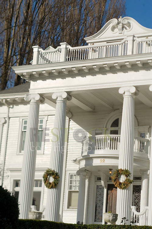 Colonial House, White