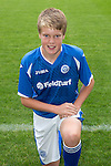St Johnstone FC Academy Under 14's<br /> Thomas Gray<br /> Picture by Graeme Hart.<br /> Copyright Perthshire Picture Agency<br /> Tel: 01738 623350  Mobile: 07990 594431