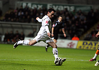 Pictured: Leon Britton of Swansea City in action <br /> Picture by D Legakis / Athena Picture Agency, Swansea, 07815441513