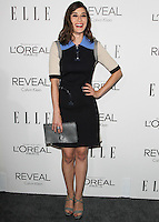 BEVERLY HILLS, CA, USA - OCTOBER 20: Lizzy Caplan arrives at ELLE's 21st Annual Women In Hollywood held at the Four Seasons Hotel on October 20, 2014 in Beverly Hills, California, United States. (Photo by Celebrity Monitor)