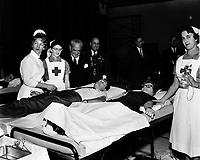 infirmieres au Quebec vers 1960<br /> <br /> <br /> PHOTO  : Agence Quebec Presse