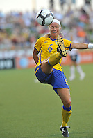 Sara Thunebro...USWNT tied Sweden 1-1 at Morison Stadium, Nebraska.