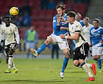 St Johnstone v Inverness Caley Thistle…03.12.16   McDiarmid Park..     SPFL<br />Murray Davidson and Josh Meekings<br />Picture by Graeme Hart.<br />Copyright Perthshire Picture Agency<br />Tel: 01738 623350  Mobile: 07990 594431