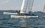 CClass World 2010 Day Two, fleet race.