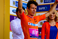 LLANOGRANDE - COLOMBIA, 14-02-2019: Rigoberto Urán (COL) Team EF Education First - DRAPAC es el nuevo líder general después de la tercera etapa del Tour Colombia 2.1 2019 con un recorrido de 167.6 Km, que se corrió en un circuito con salida y llegada en el Complex Llanogrande. / Rigoberto Uran (COL) Team EF Education First - DRAPAC is the new leader after  the third stage of the Tour Colombia 2.1 2019 with a distance of 167.6 km, which was run on a circuit with start and finish at the Complex Llanogrande. Photo: VizzorImage / Anderson Bonilla / Cont.