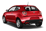 Car pictures of rear three quarter view of 2016 Alfaromeo Mito Super 3 Door hatchback Angular Rear