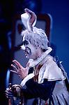 Yat Sen Chang as The White Rabbit in Derek Deane's production of Alice In Wonderland for English National Ballet