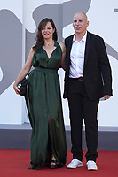 Laure Calamy and Eric Gravel attending the Closing Ceremony Red Carpet as part of the 78th Venice International Film Festival in Venice, Italy on September 11, 2021. <br /> CAP/MPI/IS/PAC<br /> ©PAP/IS/MPI/Capital Pictures