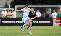 Karen Carney, Elise Weber.. St. Louis Athletica defeated Chicago Red Stars 2-0 on August 5th, 2009.