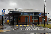 Pictured: The brand new primary school in Bettws near Bridgend, Wales, UK. Wednesday 19 February 2020<br /> Re: The effect of the Ford factory closure will have to Bridgend in south Wales, UK.