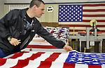 Making flags at Phoenix,  Huntsville, AL - Bob Gathany Photographer