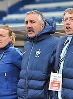 France U19 - Belgium U19 : French Coach Gilles Eyquem (FRA) .foto DAVID CATRY / Nikonpro.be