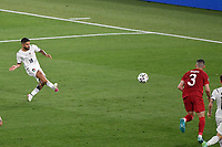 Lorenzo Insigne of Italy scores the goal of 0-3 during the Uefa Euro 2020 Group stage - Group A football match between Turkey and Italy at stadio Olimpico in Rome (Italy), June 11th, 2021. Photo Andrea Staccioli / Insidefoto