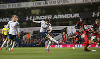 04.03.2015.  London, England. Barclays Premier League. Tottenham Hotspur versus Swansea City. Tottenham Hotspur's Ryan Mason scores to make it 2-1. ; Mason was made interim team manager for 2021 season after Spurs sacked Jose Mourinho. Mason retired from playing for Tottenham after suffering a fractured skull in a game in early 2017 at Hull.