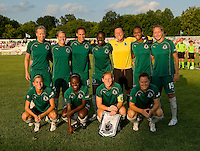 St. Louis Athletica before a WPS match at Anheuser Busch Soccer Park, in St. Louis, MO, July 22 2009. Athletica won the match 1-0.