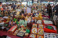 French Quarter, New Orleans, Louisiana.  Curios, Gifts, and Souvenirs for Sale in the French Market.