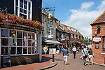 Great Britain, England, East Sussex, Brighton: Brighton Place restaurants in The Lanes area
