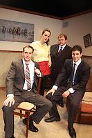 11-28-11 Jake Silbermann stars in Derby Day, Clurman Theatre, New York City, NY - Dress Rehearsal
