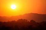 Sunset over Bagan, Burma