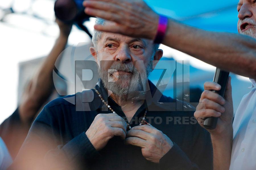 QUEDAS DO IGUAÇU, PR, 27.03.2018 – LULA – PR – O ex-presidente Lula durante caravana pela cidade de Quedas do Iguaçu na tarde desta terça-feira (27). (Foto: Paulo Lisboa/Brazil Photo Press)