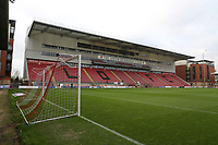 General view of the West Stand during Leyton Orient vs Harrogate Town, Sky Bet EFL League 2 Football at The Breyer Group Stadium on 21st November 2020