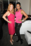 Poppy Montgomery & Garcelle Beauvais-Nilon at The 5th annual Pink Party celebration to Benefit Cedars-Sinai Women's Cancer Research Institute at the Samuel Oschin Comprehensive Cancer Institute, event held at La Cachette Bistro in Santa Monica, California on September 12,2009                                                                   Copyright 2009 DVS / RockinExposures