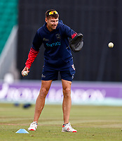 Acting Kent coach Simon Cook during Kent Spitfires vs Lancashire, Royal London One-Day Cup Cricket at The Kent County Cricket Ground on 28th July 2021