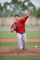 Boston Red Sox pitcher Jay Groome (66) during a minor league Spring Training intrasquad game on March 31, 2017 at JetBlue Park in Fort Myers, Florida. (Mike Janes/Four Seam Images)