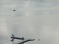 Recife (PE), 19/04/2021 - Apac emite alerta para chuvas com intensidade de moderada a forte no Grande Recife, Zona da Mata e Agreste. Segundo a Agência Pernambucana de Águas e Clima, aviso vale até a segunda-feira (19). São esperadas chuvas com mais de 50 milímetros. Imagens do Rio Capibaribe no centro do Recife.
