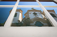 Ouro Preto (MG) 21/04/20 Igreja do Largo do Pilar na Cidade de Ouro Preto ,  a 100 km de Belo Horizonte,  e fechada ao turismo com decreto municipal em prevencao ao Corona Virus nesta terca feira (21) (Foto: Giazi Cavalcante/Codigo 19/Codigo 19)